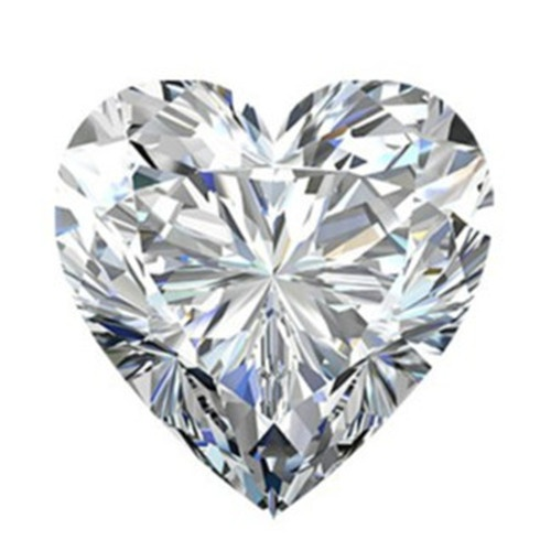 Heart diamond artificial diamonds in Dallas