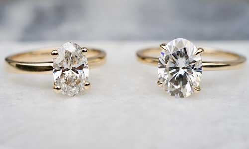 moissanite for the jewelry market