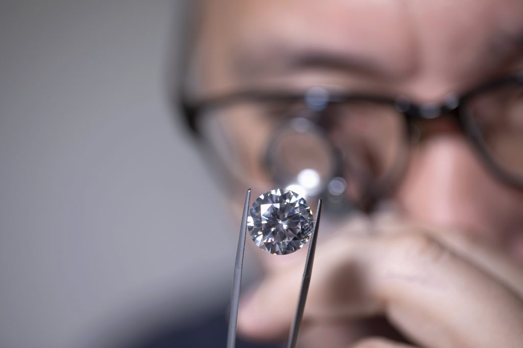 Lab grown diamonds Dallas store min