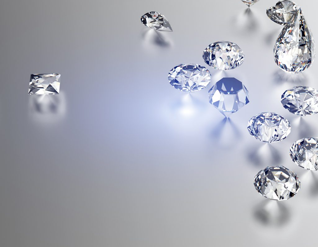 What is a synthetic diamond?