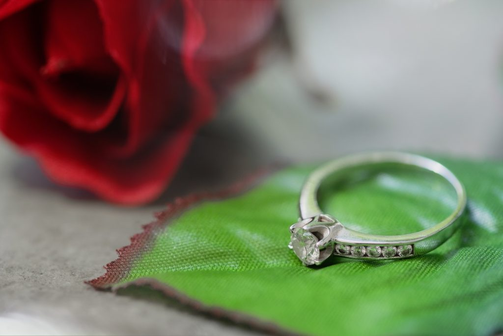 Custom engagement rings in Dallas